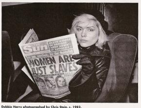 Debbie Harry reads