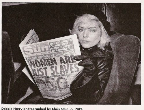 Debbie Harry reads